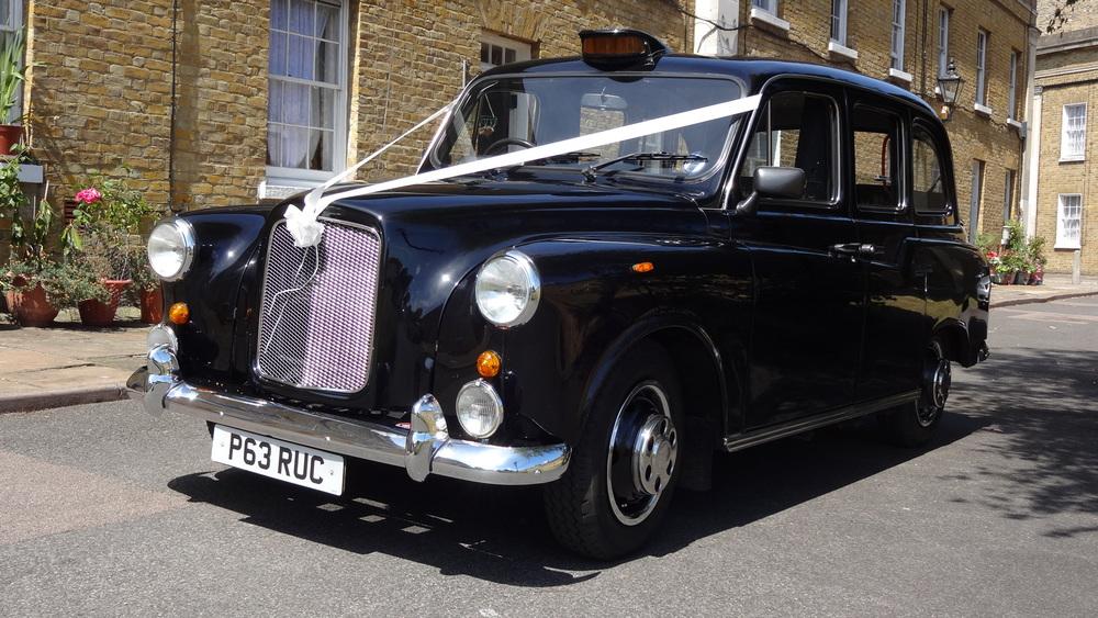 Black Cab Wedding Hire