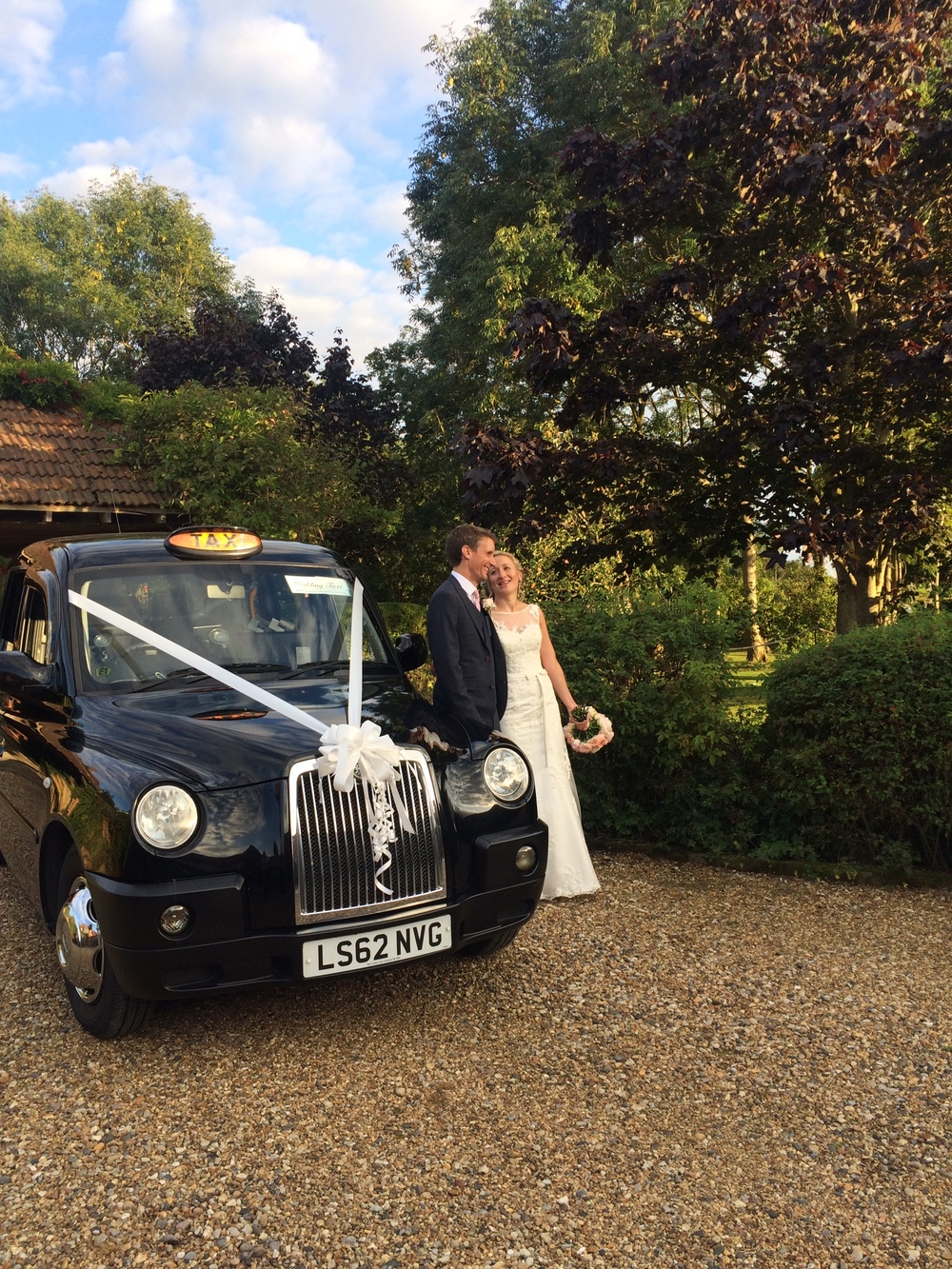 Black Taxi Wedding
