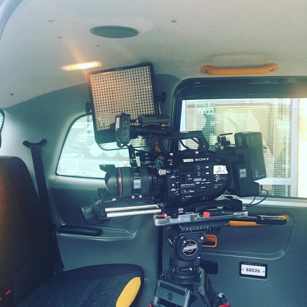London Black Cab and Vito Taxi available to hire for filming, TV, advertising, photographic shoots, radio interviews, promotional events and music videos