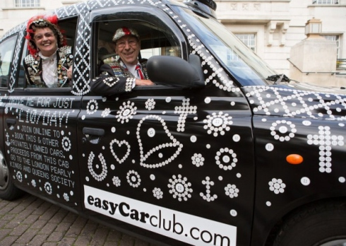 Pearly King Taxi