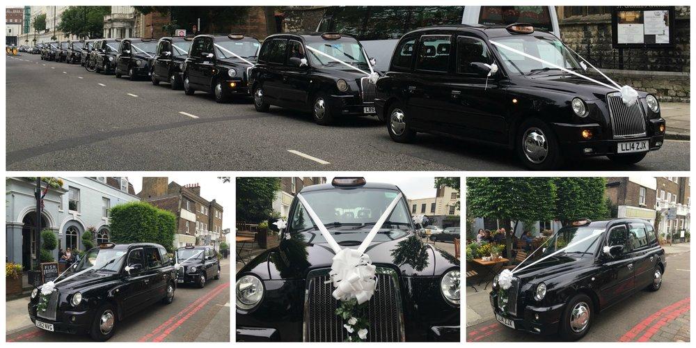 London Wedding Taxis