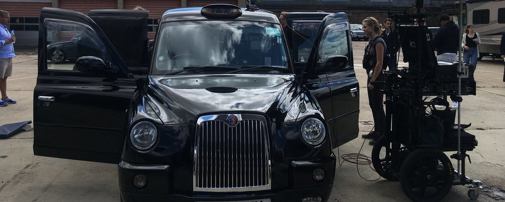 BLACK CAB FILMING - London Black Cab Filming hire
