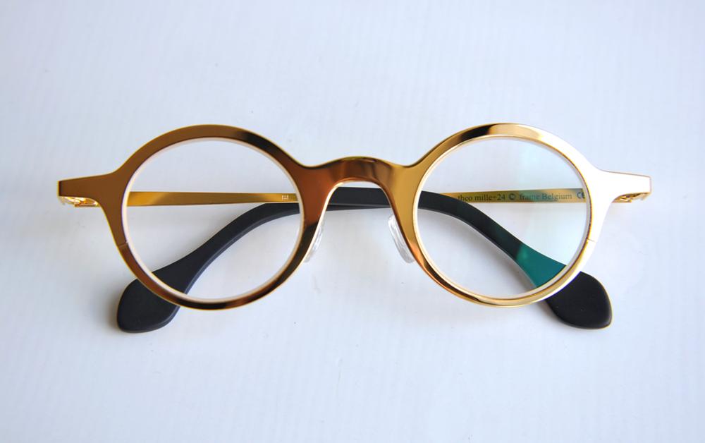 Theo Eyewear 24k Gold