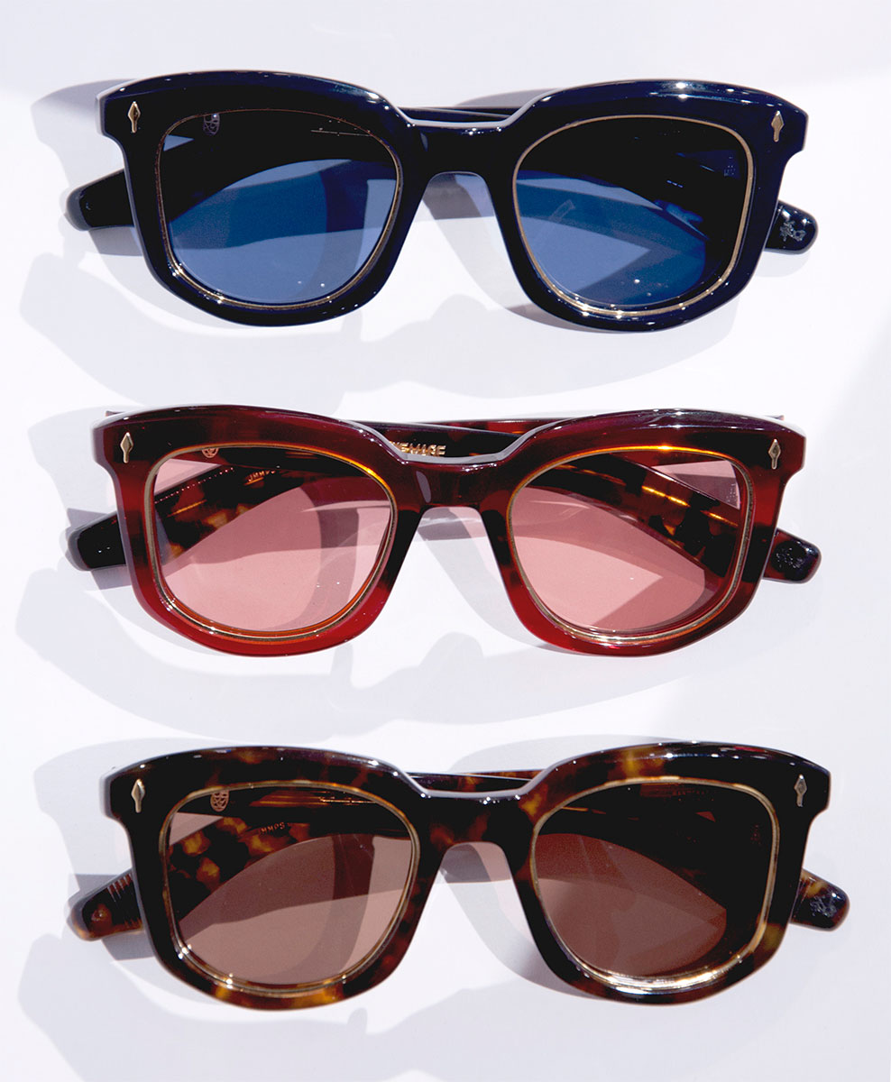 Jacques Marie Mage Pasolini sunglasses three colorways