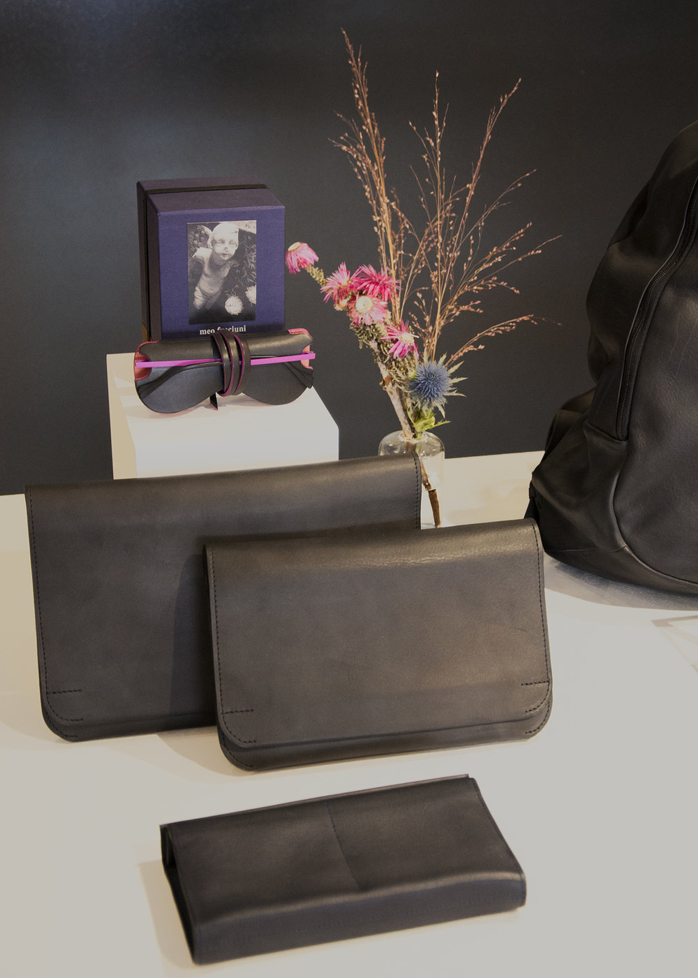 Isaac Reina leather goods - handmade quality accessories from Paris, France $130 - $900