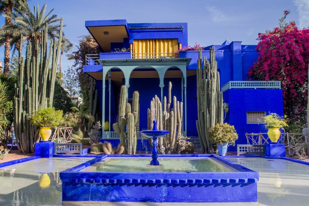 Majorelle Garden, photo care of viajesmarrakech.com