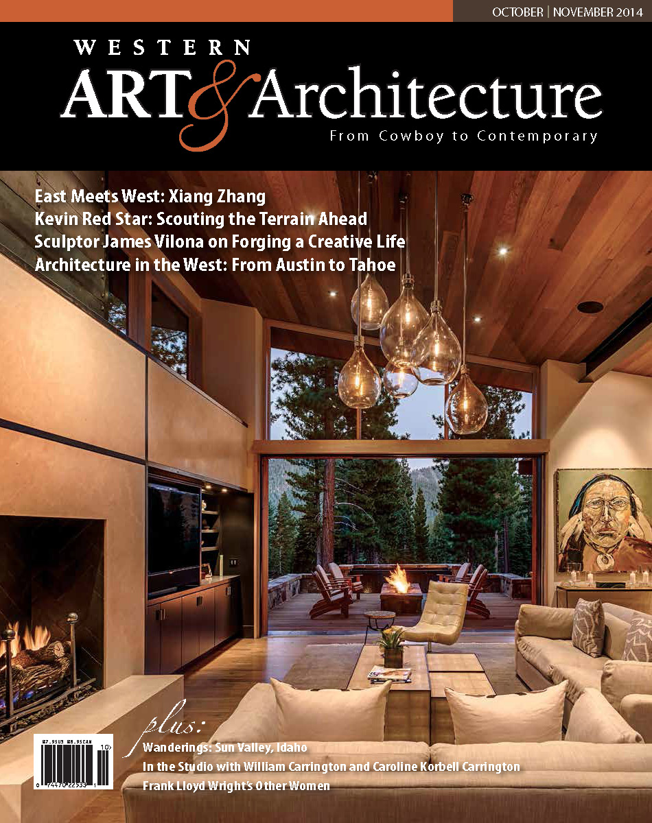 "Cover / Feature Article: ""Mountain Modern"" Nov 2014  Bigony Residence"