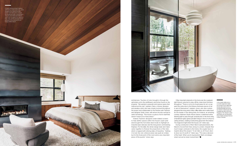 Editorial Sarah Jones Interior Design