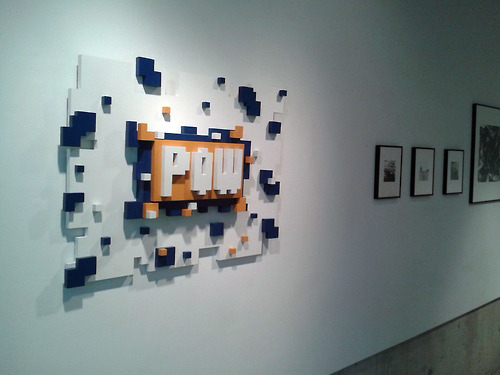 Untitled 8bit, Triangle Gallery, Toronto, 2012