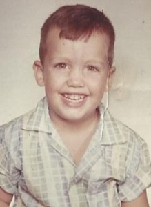 Lonnie Roy 3yrs old 1961
