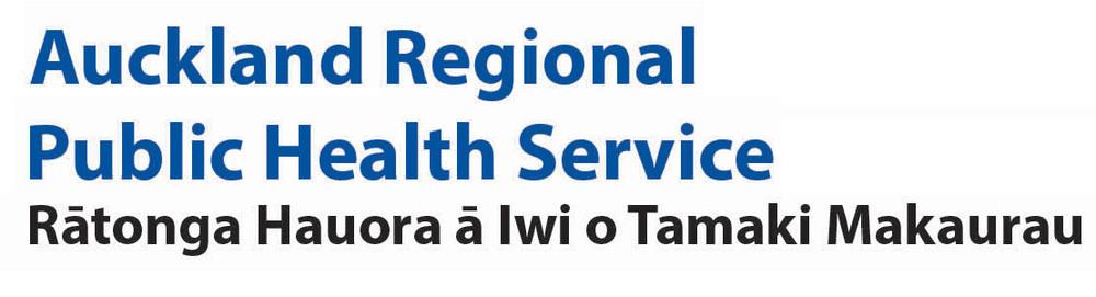 Auckland Regional Public Health Service logo
