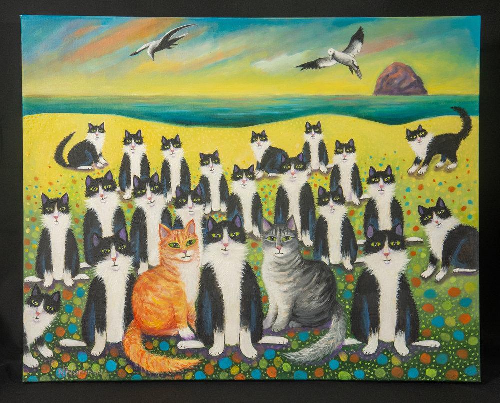 """""""Tuxedo Sea Opens It's Doors"""" by Nancy Norman"""