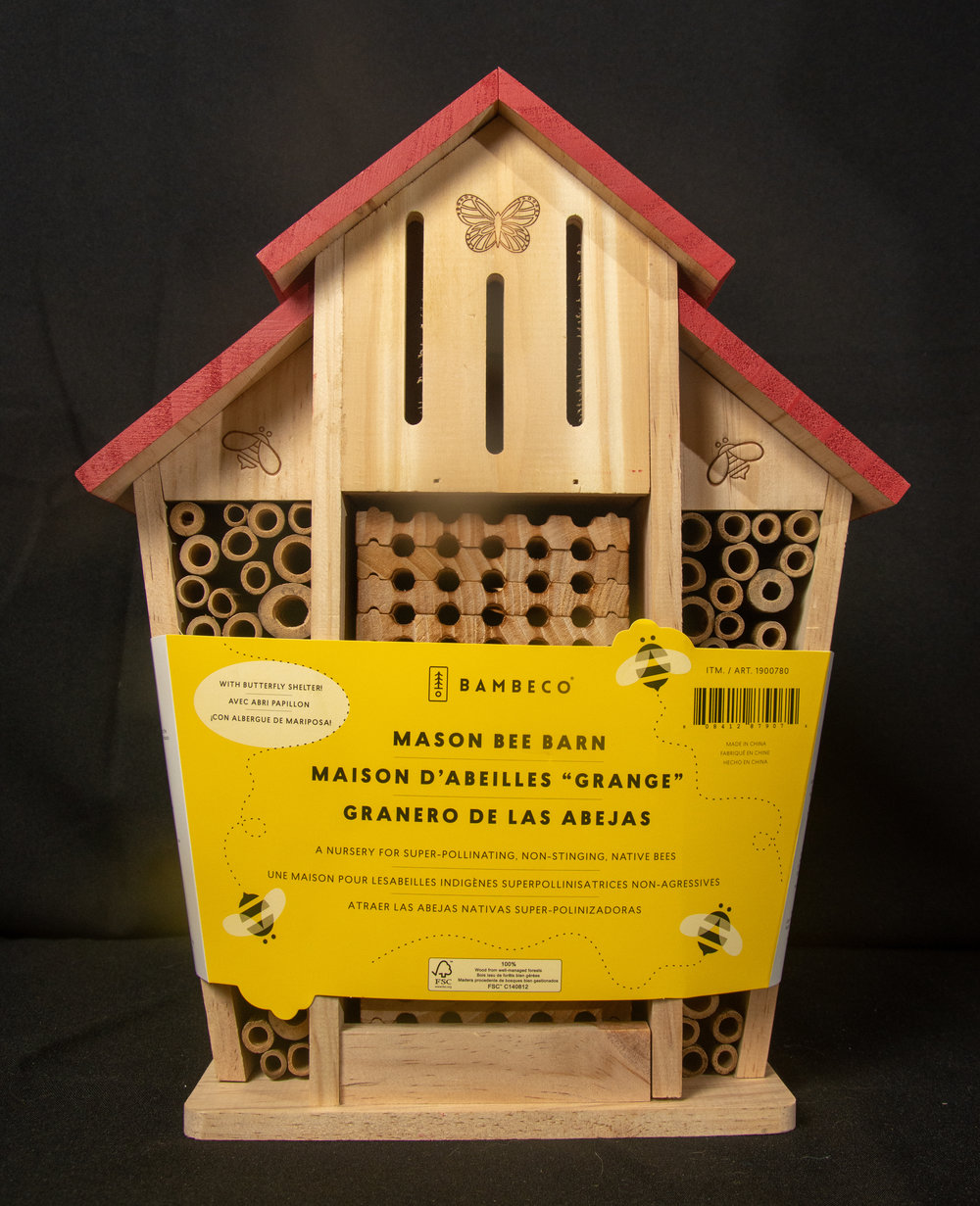 Mason Bee Barn