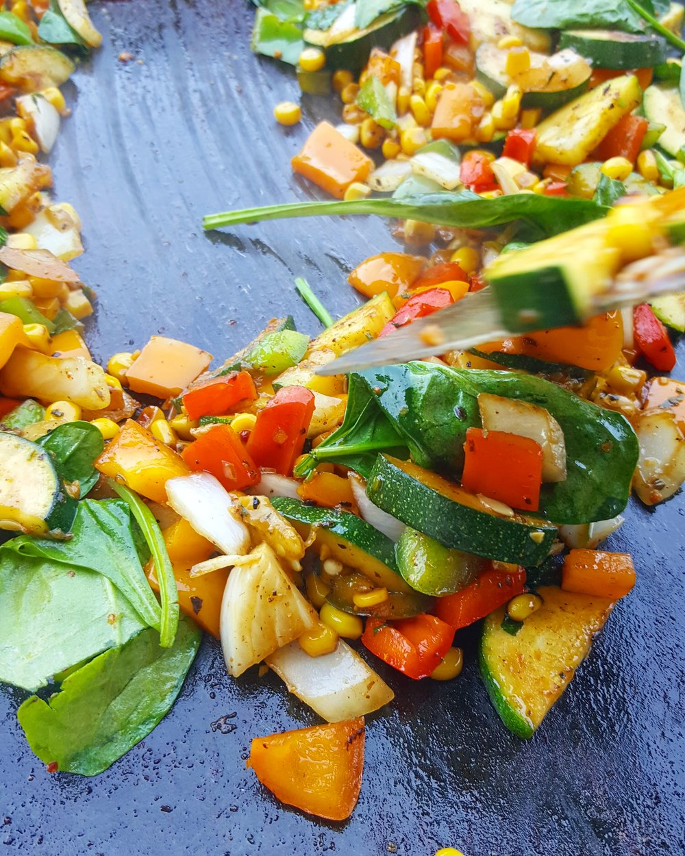 GRILLED VEGETABLES Tacos -