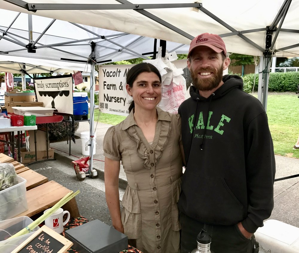 Spears Strong is featuring Yacolt Mountain Farm in a weekly blog post. Check back for weekly tips on seasonal veggies!
