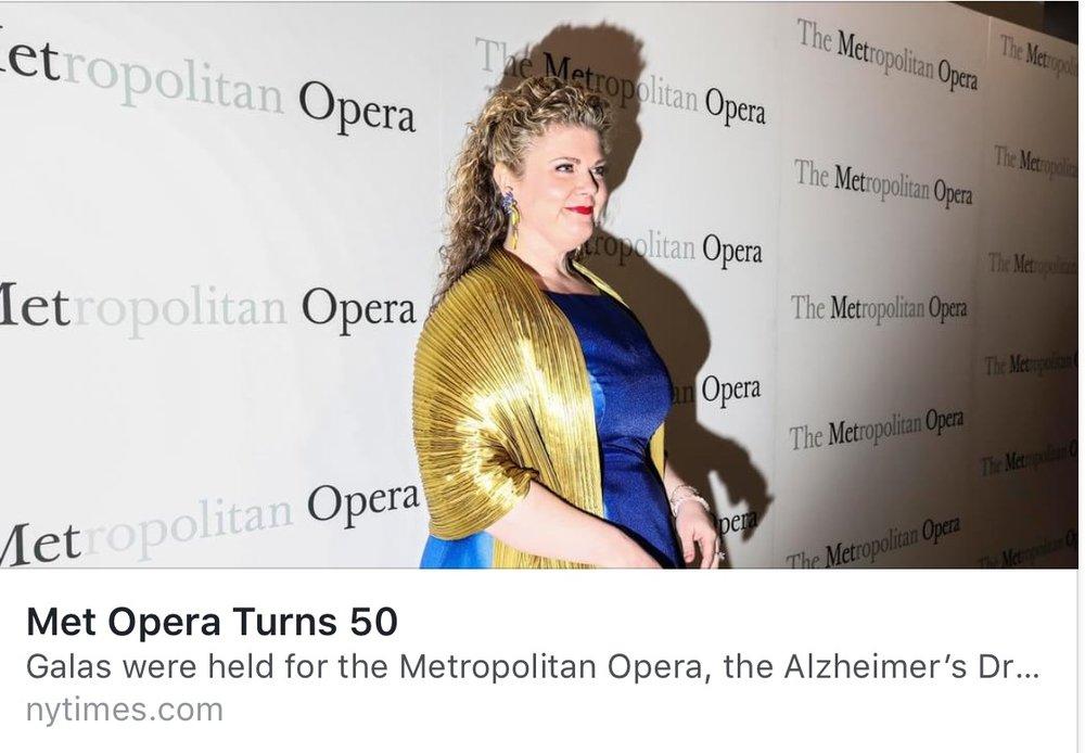 Met Opera Turns 50