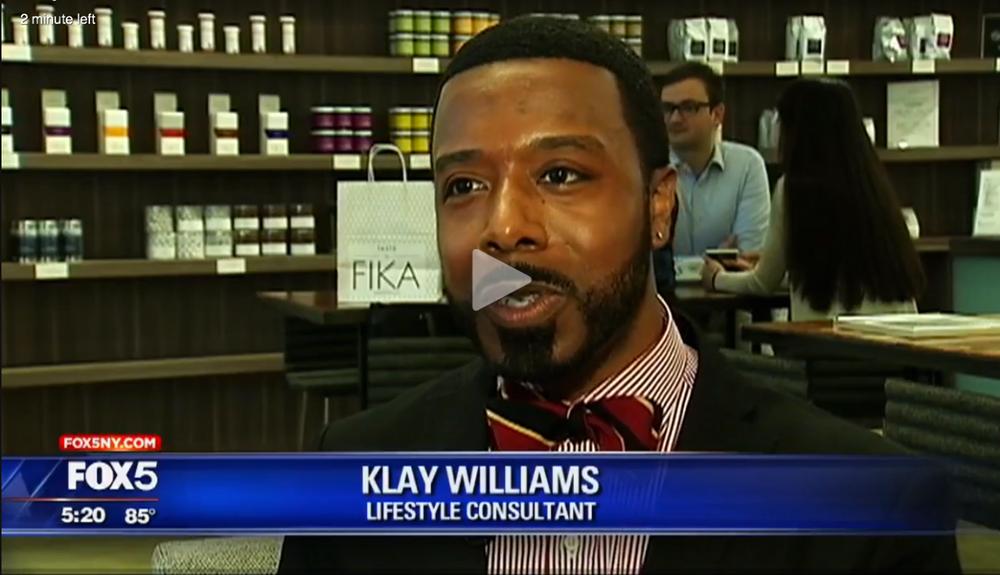Klay's Entrepreneur Profile on Fox 5 NY
