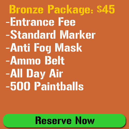 Bronze Paintball Package