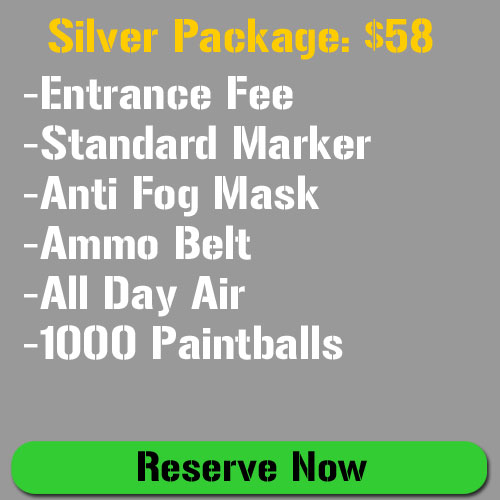 Silver Paintball Package