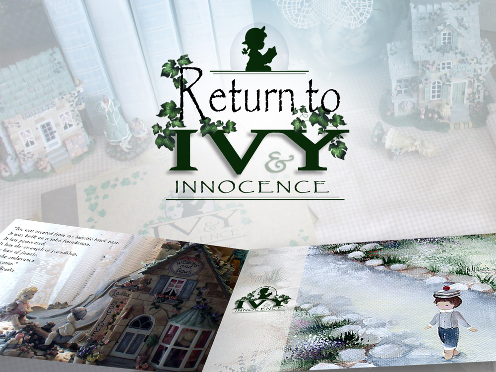 Venture down a timeless lane to a magical place called Ivy & Innocence, http://goo.gl/YQcTye   now releasing four enchanting items & one artistic storybook.  http://goo.gl/76pSvi