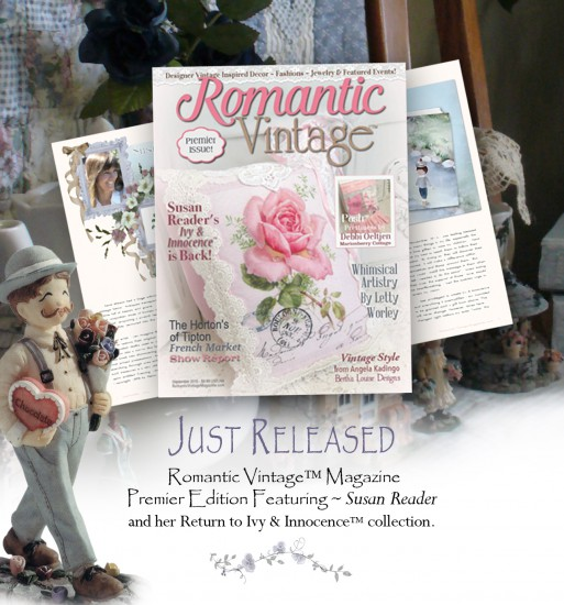 Romantic Vintage™ Magazine Premier Edition