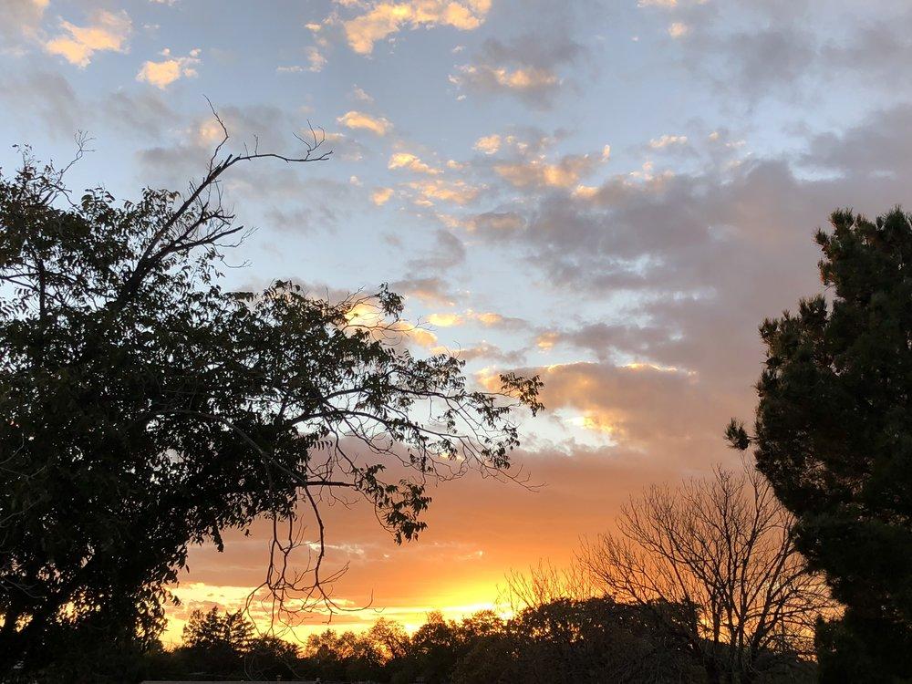 Autumn Sunset / Albuquerque, New Mexico U.S.A.