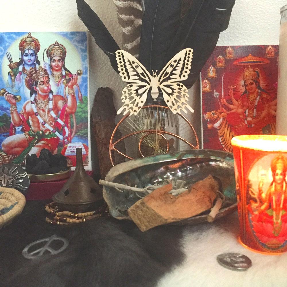 Sacred Altar, Bhakti Devotion