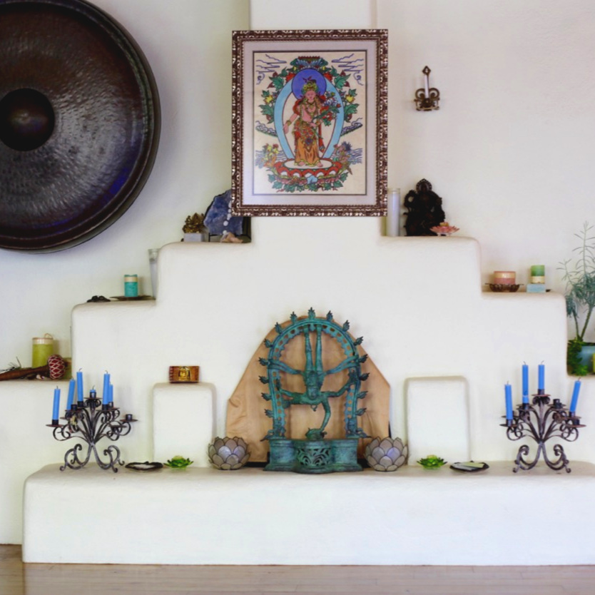 Shree Yoga Taos Altar