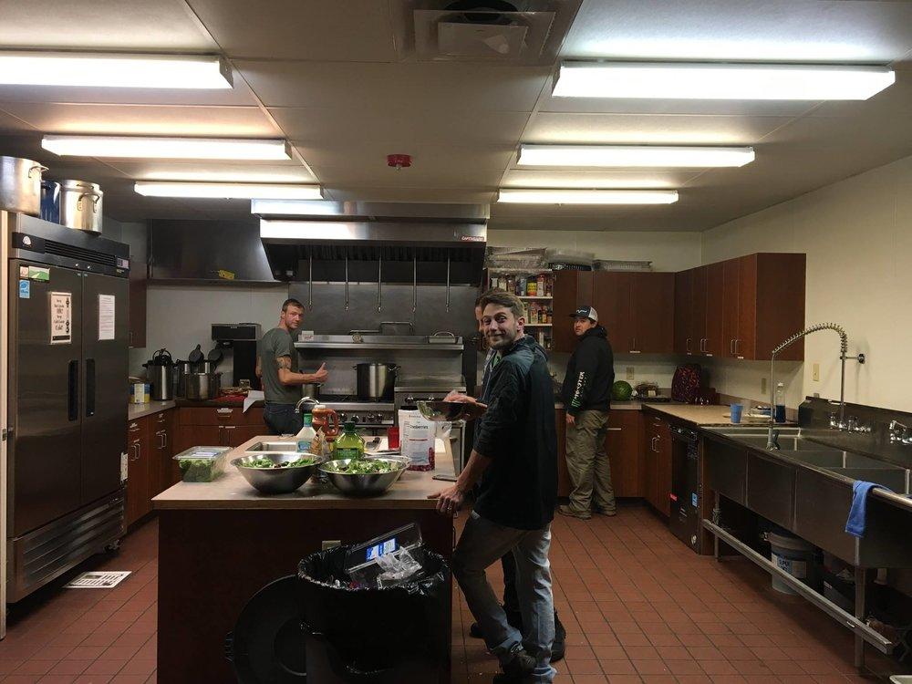 Serving the community together at Hope Cottage!