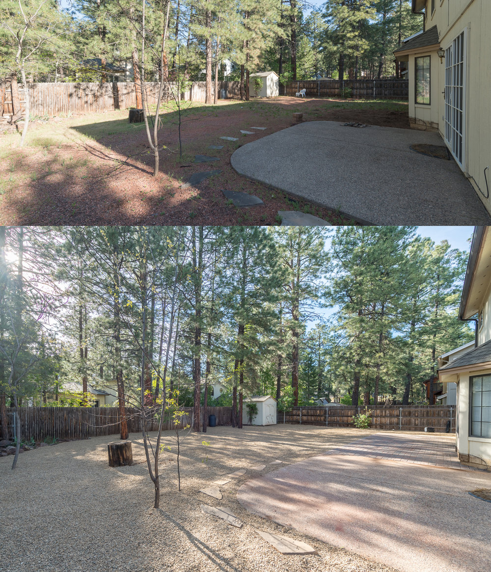 Paver and Gravel Installation