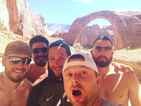 we found the rainbow bridge on a company retreat to lake powell!