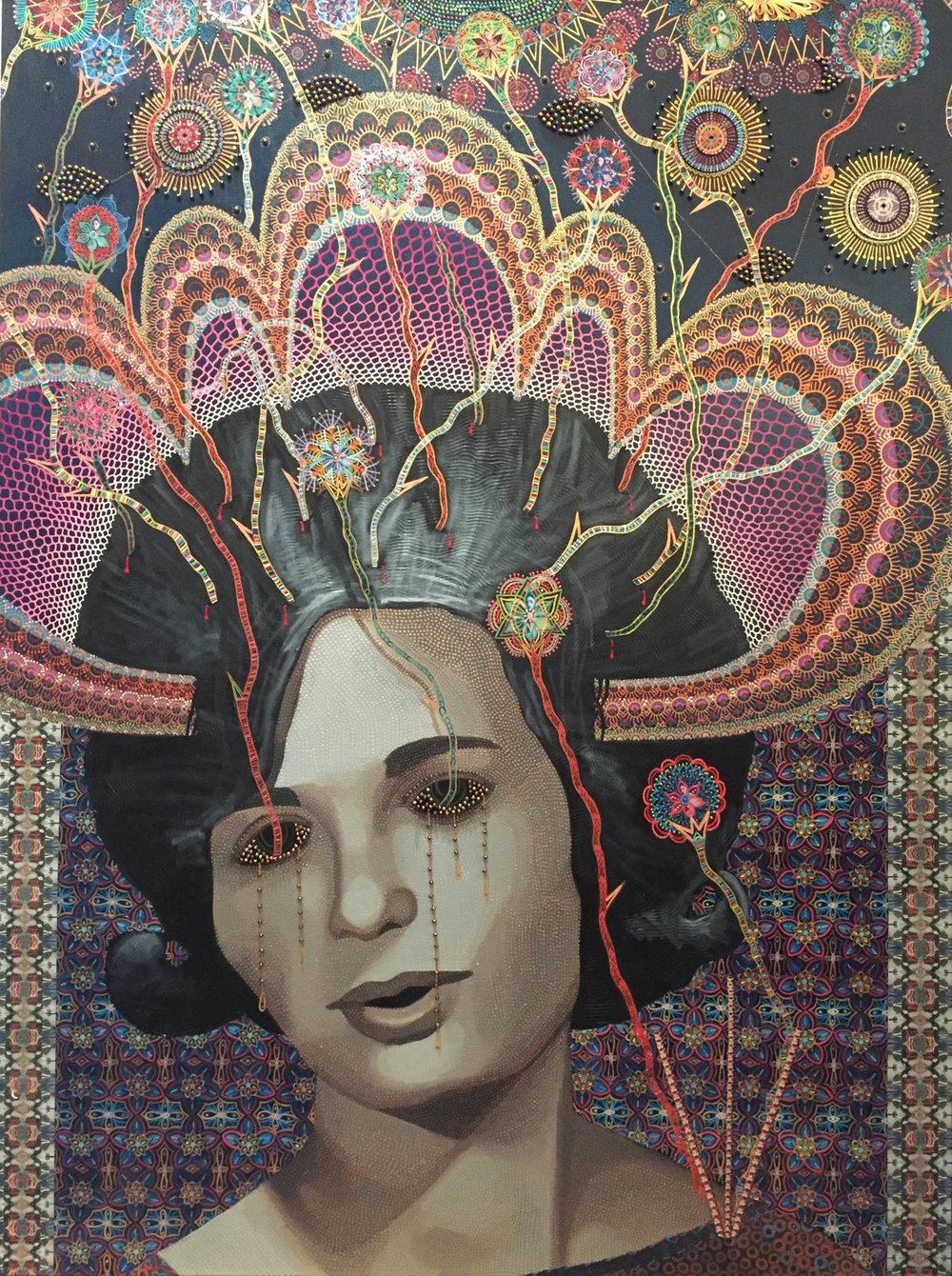 Les Femmes d'Alger #74, 2017