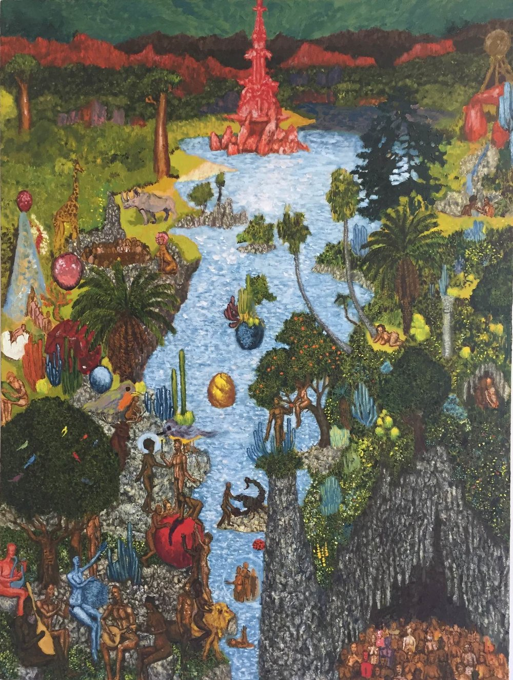 Garden of Earthly Delights, 2016