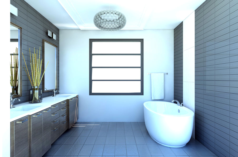 Elysian Way bath rendering