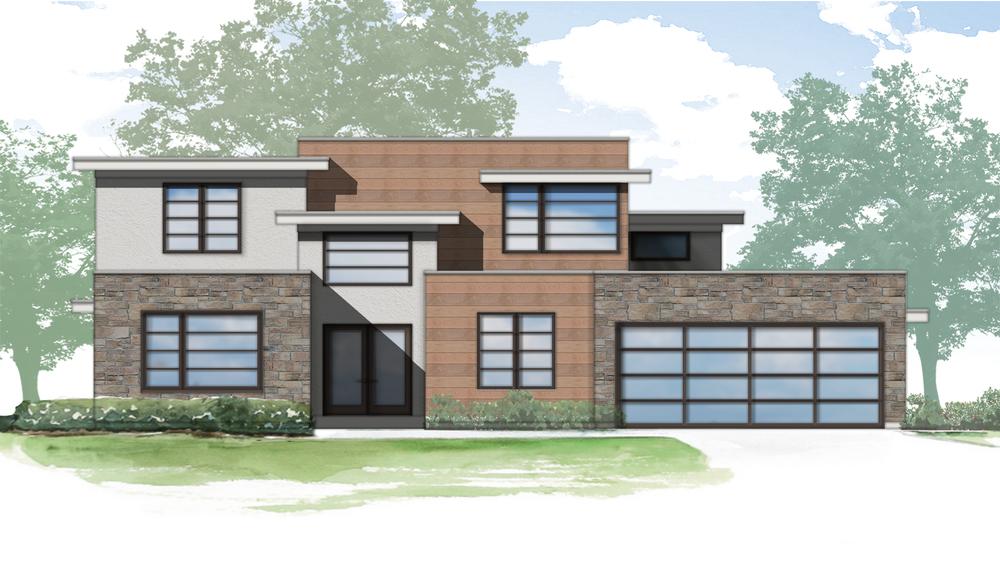 Lot 5 rendering