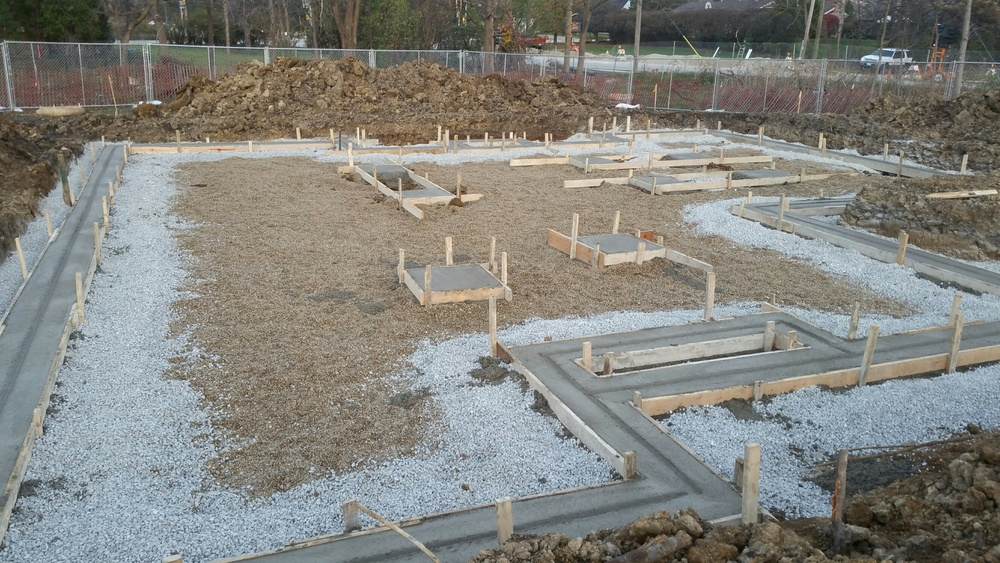 Lot 3 footings