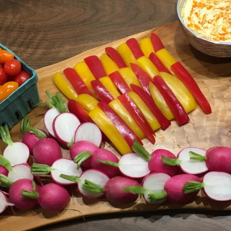 Crudite of Local Vegetables