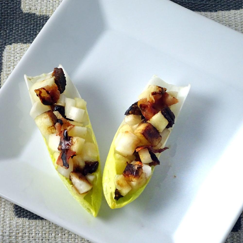 Apple, Radish & Black Fig