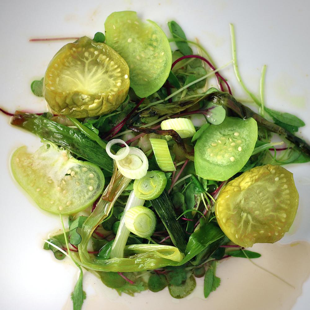 Green Salsa Salad