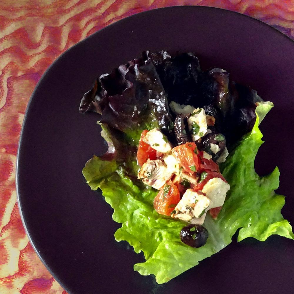 Blood Orange Lettuce Wrap