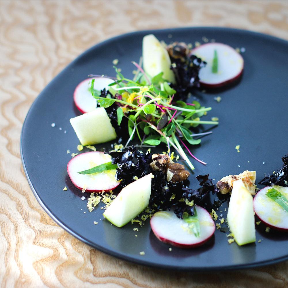 Radish & Apple Salad
