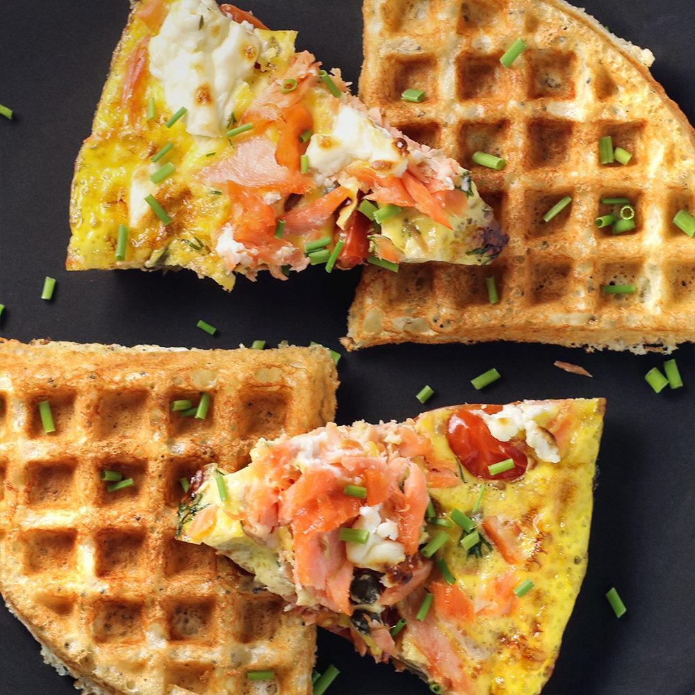 Lox Breakfast Frittata