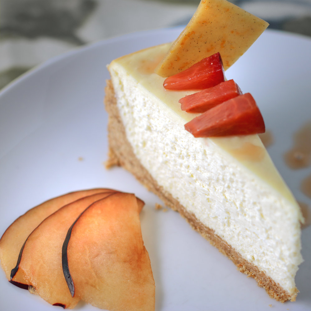 Chevre Cheesecake