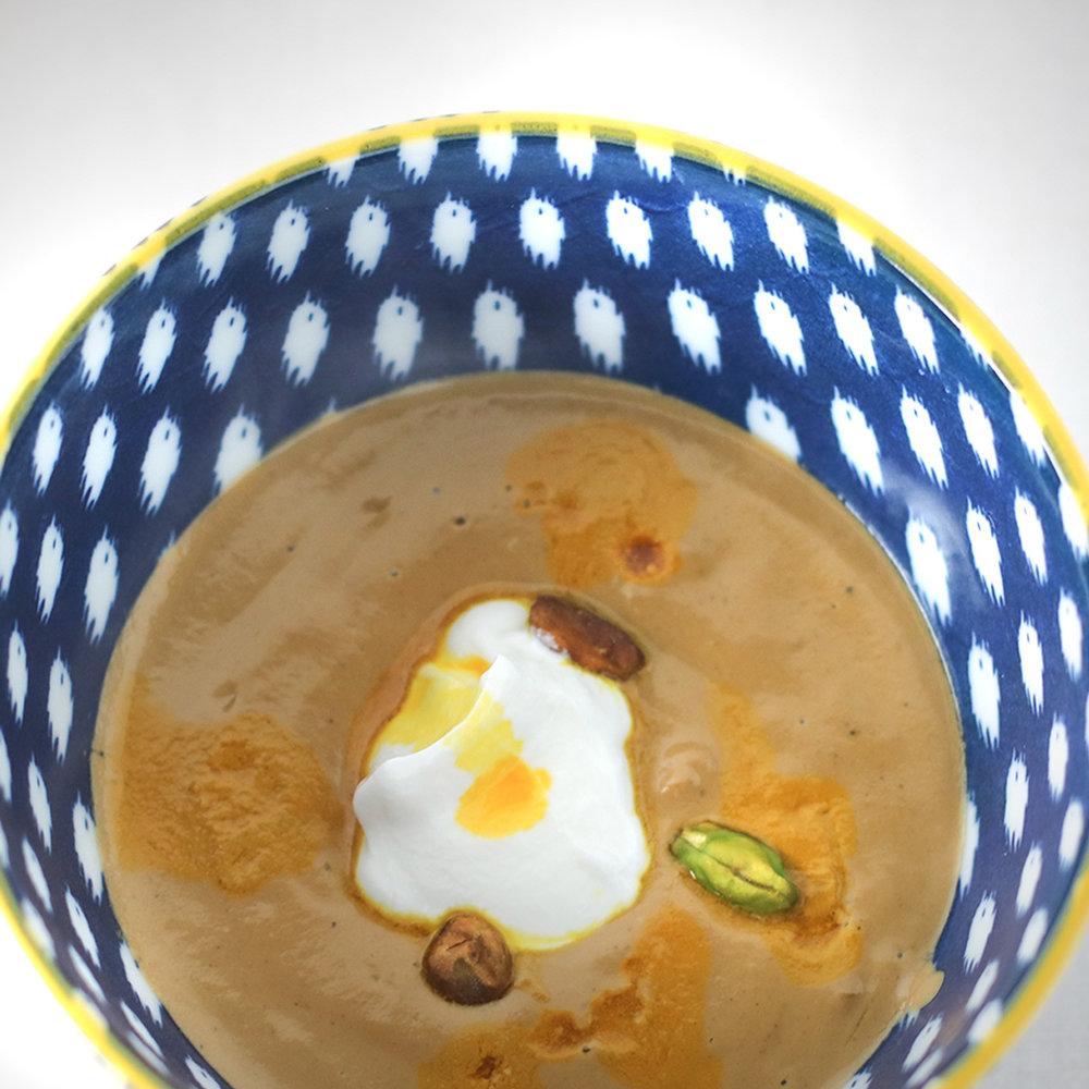 Pistachio Soup