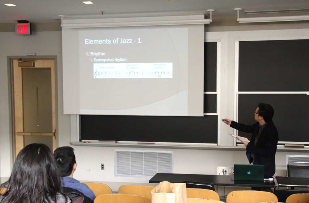"Spoke at Permias Massachusetts Lecture Series ""Demystifying Jazz"" at MIT, March 26, 2016"