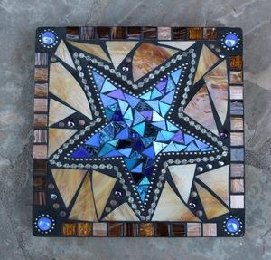 Mosaic Garden Stepping Stones Mosaic garden stones earthstar mosaics mosaic stepping stone workwithnaturefo