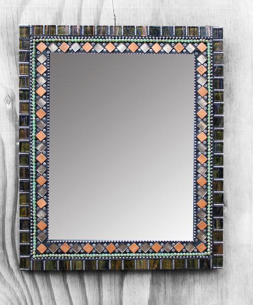 Mosaic Mirror 18 x 15 — Earthstar Mosaics