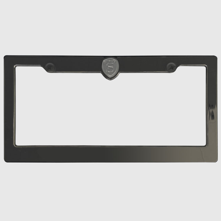 strut license plate frame one