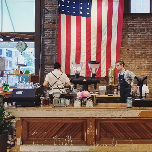 What another amazing year! 2017 was well spent serving and helping our amazing Seattle community through delicious coffee. Hats off to the past and smiles for welcoming the future. Let's see what it has in for us! 🇺🇸🎆