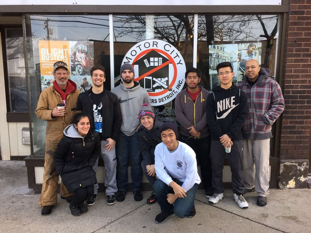 Blight Busters Volunteering Event